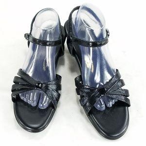 SAS Tripad Comfort Leather Wedge Strappy Sandals